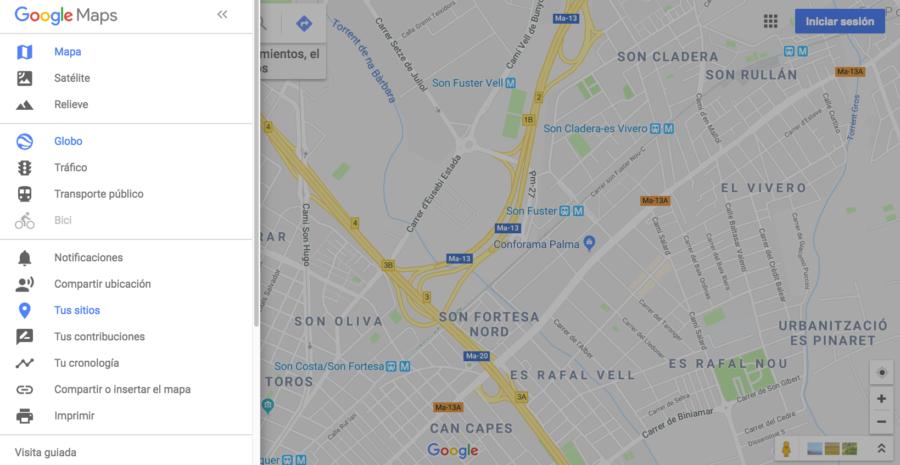 Crear Un Mapa Personalizado.Como Crear Un Mapa Personalizado En Google Maps 3dbalear